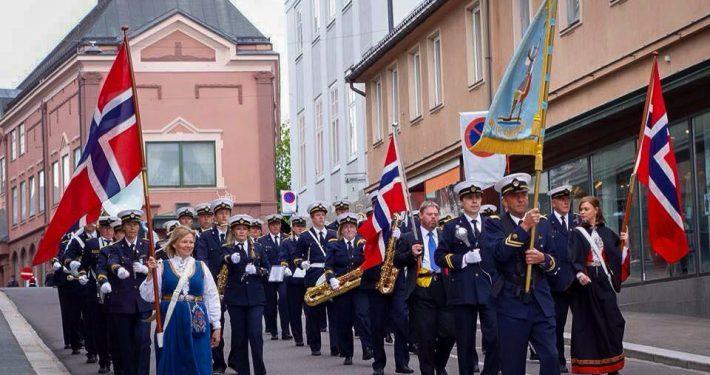 Tønsberg Janitsjarkorps i byen