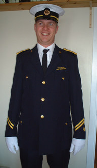 Tønsberg Janitsjarkorps komplette uniform